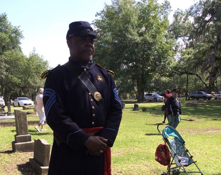 Black Civil War Re-Enactor (Florida)
