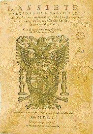 Las Siete Partidas (book cover)